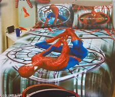 ~ Spiderman 3 - SPIDY DOUBLE BED BEDROOM QUILT DOONA DUVET COVER + BLANKET THROW