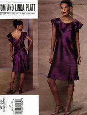 VOGUE Designer Original Misses' Dress Pattern V1138 Size 6-12 UNCUT