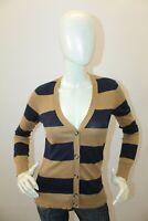 Maglione TOMMY HILFIGER Donna Cardigan Sweater Pull Woman Taglia Size XS