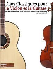 Duos Classiques Pour le Violon et la Guitare : Pièces Faciles de Beethoven,...