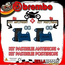 BRPADS-28473 KIT PASTIGLIE FRENO BREMBO BMW R 1150 GS ADVENTURE no abs int 2005-