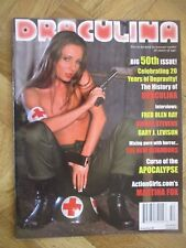 DRACULINA MAGAZINE #50 VERY FINE/NEAR MINT (E13)