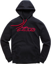 Blaze Fleece Hoody Alpinestars Large Black Red1037531131030L