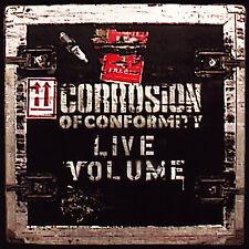 Corrosion of Conformity - Live Volume Vinyl Lp2 Back on BL