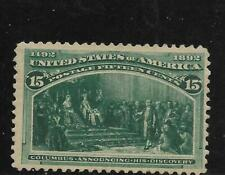 #V - U.S. - 1893 Columbian - 15c - MLH  - Scott# 238