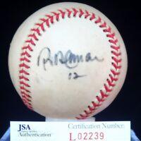Roberto Alomar Jsa Authenticated Autograph American Baseball Signed