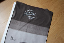 Bas nylon fully fashioned couture stockings vintage gris T1