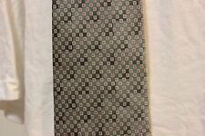 Como House Dress Neck tie 100% silk dark gray, silver, pink