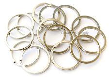 50pcs 30mm Metal Key Rings Split Rings Heavy Duty Keychain Accessories Gift
