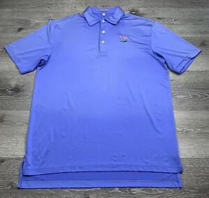 Golf Polo Shirt LACC Los Angeles Country Club Size M Medium Peter Millar