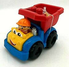 Fisher-Price Mega Bloks First Builders Dylan Dump Truck(TOY118)