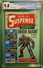 TALES of SUSPENSE #39 (11/'20) CGC 9.8 NM/M FACSIMILE ED 1st APPEARANCE IRON MAN