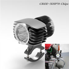 Motorcycle Spotlight 18W 2700LM Fog Light DRL Hunting Lamp CREE-XHP70 + Bracket