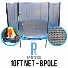 NEW Replacement Trampoline Safety Pole Net Round Spare 10ft/Foot 8 Pole
