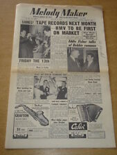 MELODY MAKER 1954 AUGUST 21 TAPE RECORDS HMV LAUNCH EDDIE FISHER FRIDAY 13TH +