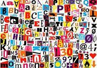 Fridge Magnets Alphabet Numbers & Symbols Magnetic Letters Kids Learning Toys