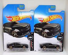 2017 Hot Wheels '13 Chevy Camaro Special Edition - No. 180 - Black - Set of 2
