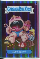 Garbage Pail Kids Chrome Series 1 Refractor Base Card 2b RAY DECAY