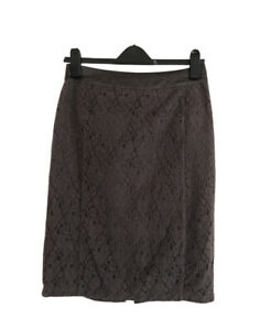DAVID LAWRENCE Vintage Lace Lined Pencil Skirt. Size 8. GUC