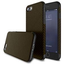 Luxury Shockproof Soft Carbon Fiber TPU Slim Case Cover for iPhone & Samsung