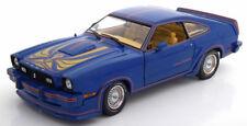 1:18 GreenLight Ford Mustang 2 King Cobra 1978 Blue/Golden