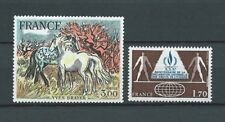FRANCE - 1978 YT 2026 à 2027 - TIMBRES NEUFS** LUXE
