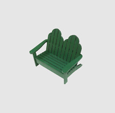1:12 Scale Dollhouse Miniature Adirondack Love Seat kIT