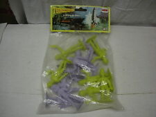 COMANSI THUNDERBIRDS 12 SPACE SOLDIERS ALL ARE DIFFERENT soldatini SPAZIALI MIB