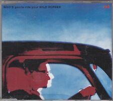 U2 - who's gonna ride your wild horses CD single