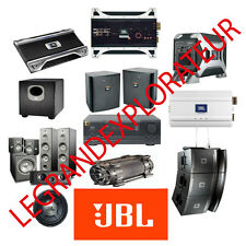Ultimate  JBL  Repair Service manual & Technical Manual      300 manuals on DVD