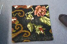 "Turkish Anatolian Kilim Pillow Cushion Hand Woven Wool 18"" x 18"" Zipper Back 36"