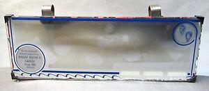1940's DESOTO PLYMOUTH Chehalis WASHINGTON car sun visor clip-on vanity mirror