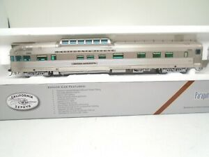 Broadway Limited Ho 512 California Zephyr 'Silver Horizon' Dome-Observation car