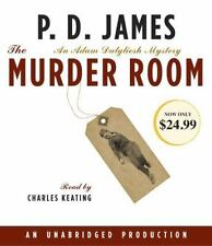 The Murder Room by P.D. James Compact Disc Book (English)