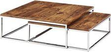 Relaxdays 10020408 Set Tavolino impilabili e Salva Spazio Salvaspazio...