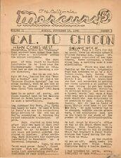 California Mercury #2.1 (1940): Forrest J Ackerman, LASFS, Thorne Smith, Pulps +