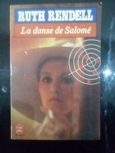 Livre Roman Ruth Rendell, La Danse De Salomé