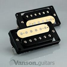 NUOVO Vanson'57 polepieces II RAF stile Humbucker Set per Gibson ®, Epiphone ® * Zebra