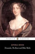 NEW Oroonoko, the Rover, and Other Works (Penguin Classics) by Aphra Behn