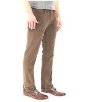 LUCKY BRAND * 32 x 30 Classic 361 Straight Fit Leg Brown Corduroy Pants