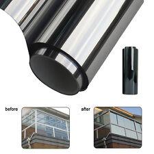 1M*50cm Mirror Silver Solar Reflective Window Film One Way Privacy Tint