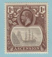 ASCENSION ISLAND 19  MINT HINGED OG * NO FAULTS  VERY FINE!