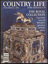 Country Life Nov 1995 ROYAL COLLECTION MANTEGNA HOLYROOD HOUSE WEST SOMERSET RLY
