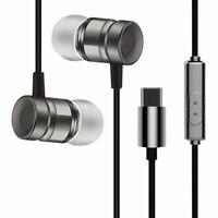 USB C Type-C Stereo Cuffie auricolari In-Ear per XiaoMi 8 Letv