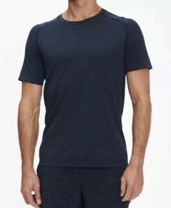 Lululemon Men's Metal Vent Tech Short Sleeve 2.0            (True Navy) RRP £68
