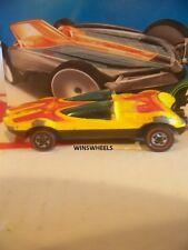 HOT WHEELS REDLINES 1980 SWINGIN WING YELLO WISCONSIN GOOD COND 234-6-1 LOOS CAR