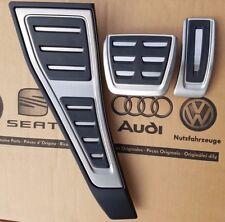 Audi a5 2017 original s-line s5 pedalset pedales rs5 Footrest pedal pads caps RHD