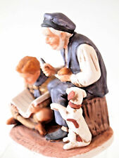 Norman Rockwell Classic Figurine Boy Scouts of America Calendar Series by Dave