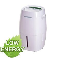 ElectriQ 16L Quiet Low Energy Digital Dehumidifier for houses up to 4 bedrooms