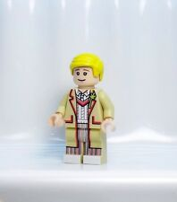 A405 Lego CUSTOM PRINTED Lego Dimensions INSPIRED DOCTOR WHO FIFTH DR MINIFIG